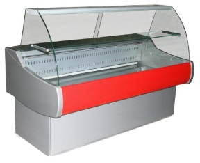 Холодильная витрина для мяса Полюс ВХСр-1,5 ЭКО MINI