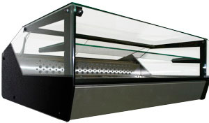 Настольная холодильная витрина Полюс ВХС-1,0 Cube Арго XL Техно