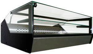 Настольная холодильная витрина Полюс ВХСр-1,0 Cube Арго XL Техно
